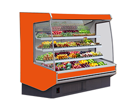 11SY fresh-keeping refrigerating showcase for fruits and vegetable