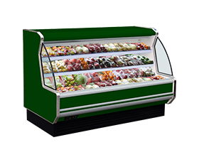 12FD fresh-keeping refrigerating showcase for fruits and vegetable