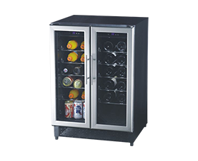 DCW-110R/A(S) Thermostatic and Humidistat Wine Cooler