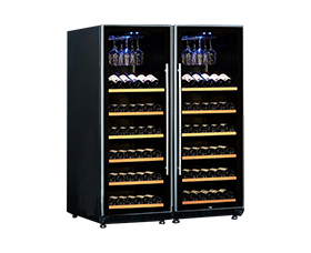 QZS-Double Compressors Wine Cooler