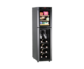 DTW-60EC-BB Tea/Wine Cooler