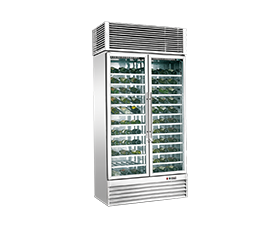 YBJ-2 Glass Door Compressor Wine Cabinet