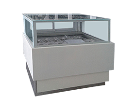 12CS-Japanese Style Square Ice Cream Cabinet